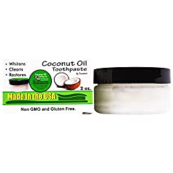 Coconut Oil Teeth Whitening Toothpaste