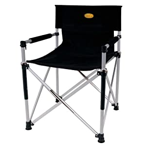 Camp 4 Luxury Directors Chair Folding Stool Sports Outdoors