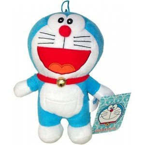Doraemon. Peluche 20cm Boca abierta de Play by Play
