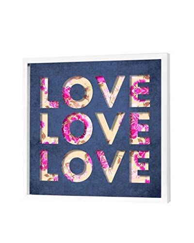 "Oliver Gal Love Triple Dimensional Art, Multi, 20"" x 20"""