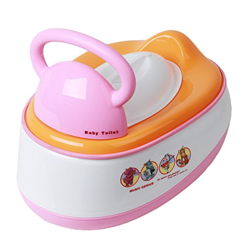 Generic Baby Potty Chair-Pink