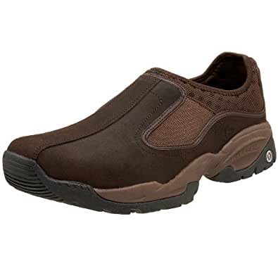 Amazon.com Skechers For Work Menu0026#39;s 76818 Farve Slip-On Shoes