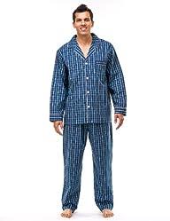 Noble Mount Men's Cotton Woven Pajama…