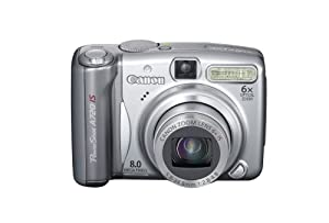 Canon PowerShot A720IS 8MP Digital Camera with 6x Optical Image Stabilized Zoom