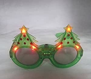 KCRIUS(TM) Novelty Light Up Flashing LED Sunglasses