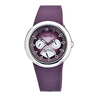 Philip Stein Women's F43S-PR-PR Quartz Stainless Steel Purple Dial Watch