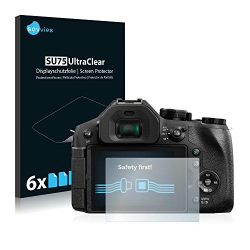 6x Film Protection pour Panasonic Lumix DMC-FZ300 Protection écran Film Protecteur Transparent