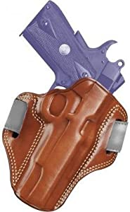 Galco Combat Master Belt Holster for 1911 5-Inch Colt, Kimber, Para, Springfield (Tan, Right-hand)