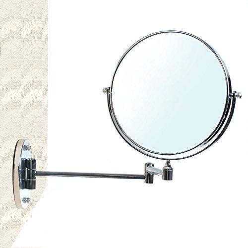 Himry cosm tica espejo espejo de aumento de pared for Espejo 8 aumentos