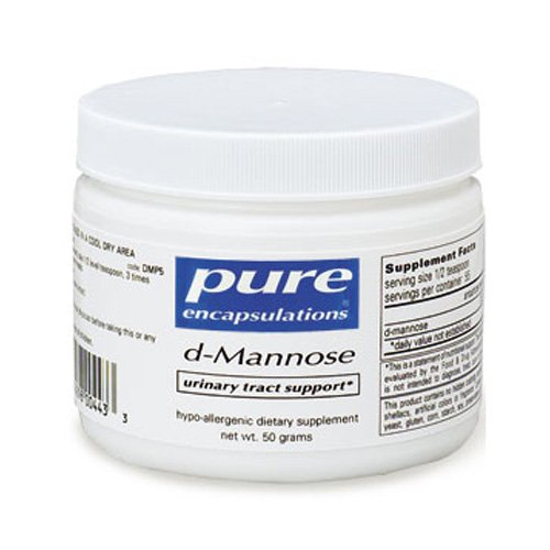 Pure Encapsulations D-Mannose Powder 50 Grams