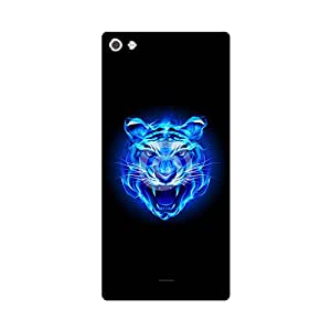 Skintice Designer Back Cover with direct 3D sublimation printing for Micromax Canvas Sliver 5 Q450
