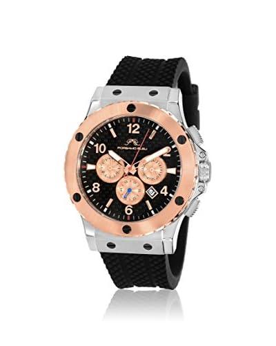 Porsamo Bleu Men's 651DMAR Marcus Black Stainless Steel Watch