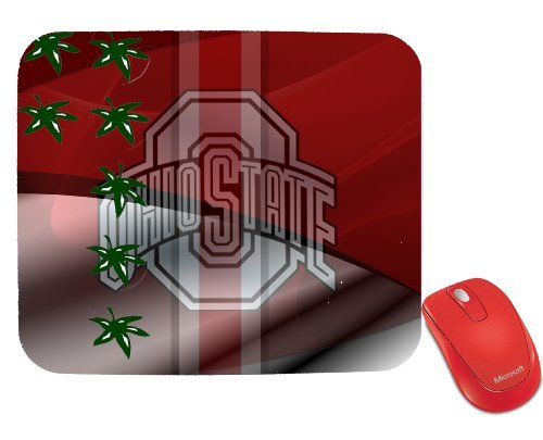NCAA Ohio State University Ohio State Buckeyes Mouse Pad by Cus2mize (Ohio State Mouse Pad compare prices)