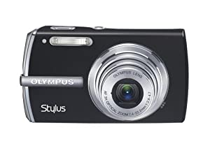 Olympus Stylus 1200 12MP Digital Camera with 3x Optical Zoom (Black)