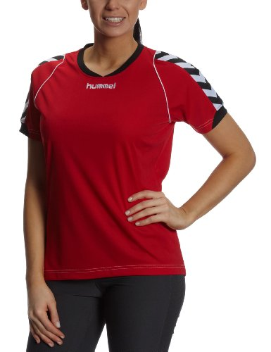 Hummel Damen Trikot BEE AUTHENTIC Short Sleeves JERSEY, true red, L, 03-911-3062_3062