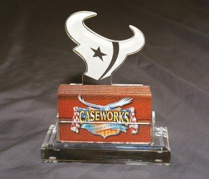 NFL Houston Texans Business Card Holder in Gift Box by Caseworks