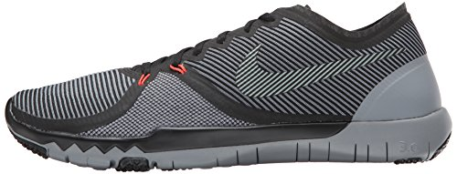 8fa9e3dc1e02 pictures of Nike Mens Free Trainer 3.0 V4 Training Shoes Black Cool Grey  749361-