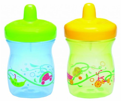 Gerber Graduates BPA Free 2 Pack Sip and Smile Spill Proof Cup, 7 Ounce - 1