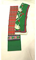 BEAUVILLE VAIIBAVAM Women's Unstiched Salwar Material (BVPCUC_53_Multi_Free Size)