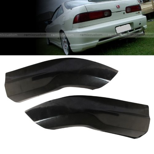 98-01 Acura Integra 2DR Hatchback Type R Style PU Rear Body Bumper Caps Kit (Integra Type R Wing compare prices)