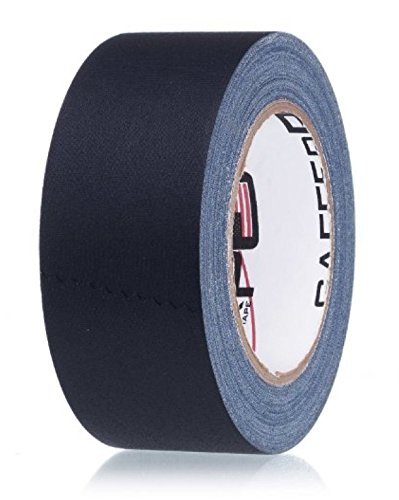 REAL Professional Premium Grade Gaffer Tape by Gaffer Power - Made in the USA - Black (or White) 2 Inch X 30 Yards - Heavy Duty Gaffer's Tape Plus - 11.5 mils - Multipurpose - Better than Duct Tape (Light Blue Vinyl Spray compare prices)