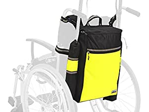 Ability Superstore High Visibility Wheelyscoot Crutch Bag