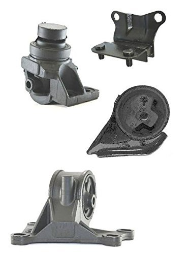 Mac Auto Parts 36299 Mazda 626 2.0L A/T Engine & Transmission Mounts 4pc Kit (Mazda 2 Parts compare prices)