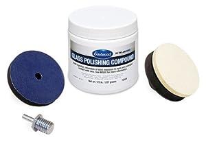 glass polishing kit pro scratch removal repair automotive. Black Bedroom Furniture Sets. Home Design Ideas