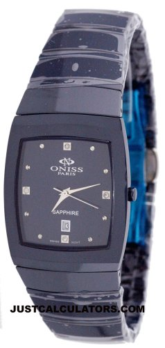 RADO Watch:Oniss Men's Blue Ceramic Watch Model ON-523-M2 Images
