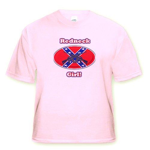 Redneck Girl. - Light Pink Infant Lap-Shoulder Tee (12M) front-1020184