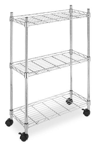 Whitmor 6056-53 Supreme Laundry Cart, Chrome front-330132