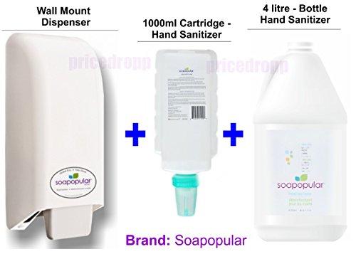 soapopular-wall-mount-dispenser-1000ml-cartridge-4-litre-refill-hand-sanitizer