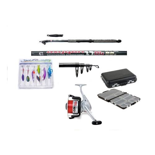 Carbon Telescopic Fishing Starter Travel Set