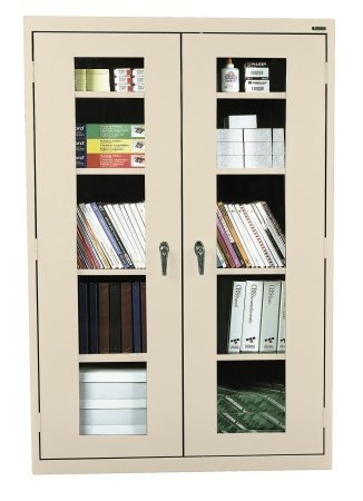 See-Thru Clearview Cabinet w Adjustable Shelves (46 in. x 24 in. x 78 in.)