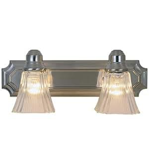 Af Lighting 617094 Decorative Vanity Fixture Brushed Nickel Finish 18 Inch Bathroom Light