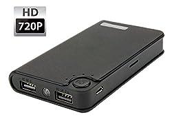 PANSIM HD 1080P Power Bank Spy Camera