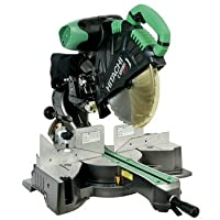 Hitachi C12RSH 15 Amp 12-Inch Sliding Compound Miter Saw with Laser from Hitachi