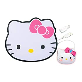 Hello Kitty USB/PS2 Optical Mouse and Mousepad