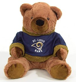 """NFL 20"""" Plush Bears"""