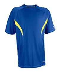 Russell Athletic Men's Fashion Performance Color-Block Tee