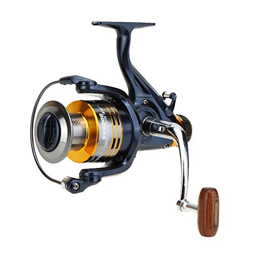 Lixada 10+1BB Ball Bearings Left/Right Interchangeable Collapsible Handle Carp Fishing Wheel Metal Spinning Reel Aluminum Spool High Speed 5.1:1