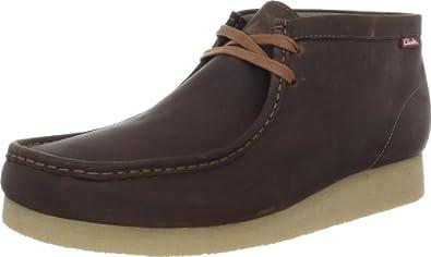 Clarks Men's Stinson Hi,Beeswax Leather,7 M US