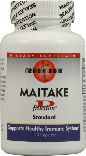Maitake D-Fraction 120 Capsules