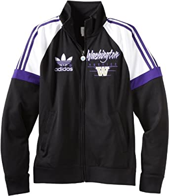 NCAA Washington Huskies Mens Originals BTC Track Jacket by adidas