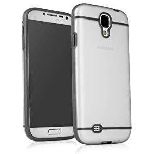 Simple Element Samsung Galaxy S4 Case - Ultra Low Profile Grey and Semi-Transparent Protective Hard Case (Grey)