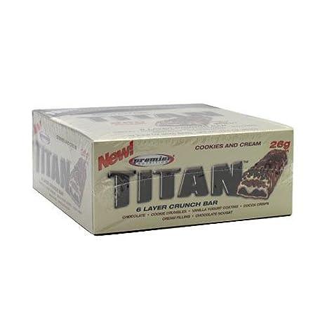 Отзывы Premier Nutrition Titan Bar, 2.8 oz.