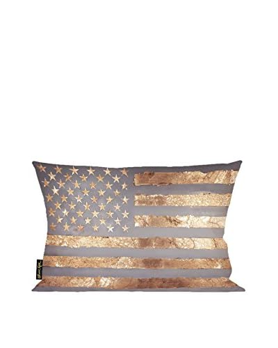 Oliver Gal Rocky Freedom Lumbar Pillow, Multi