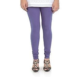 Vami Cotton Churidar Leggings in Pensy Color _VM1001(45)