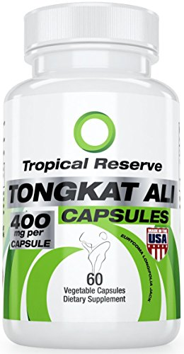 Natural Testosterone Booster - Tongkat Ali 100:1 Extract - Made in USA - 60 VCap - Made in FDA/GMP Certified Facility (A.k.a:Eurycoma Longifolia or Longjack) Increase Libido & Create Lean Muscle (Eurycoma Longifolia Extract compare prices)