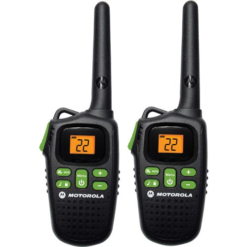 Motorola MD200R Giant FRS Two-Way - 20 Mile Radio Pack - Black